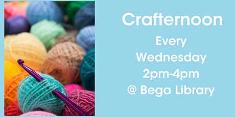 Crafternoon at Bega Library tickets