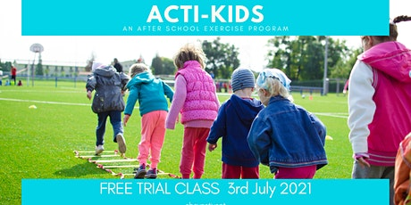 Acti-Kids  - Exercise Program for Kids aged 7-11 tickets