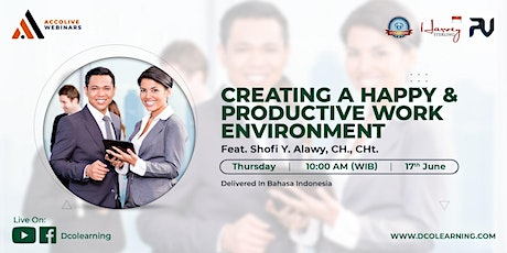 Creating A Happy & Productive Work Environment tickets