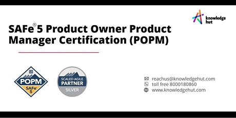 SAFe® 5 Product Owner Product Manager Certification (POPM) in Dubai biglietti
