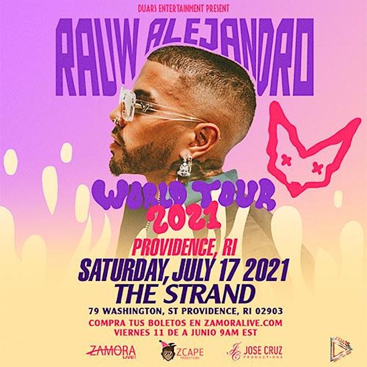 RAUW ALEJANDRO WORLD TOUR 2021 image