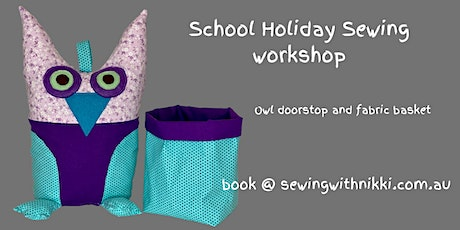 Kids School Holiday Sewing workshops tickets