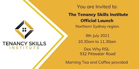 Event Postponed - Tenancy Skills Institute - Official Launch Sydney tickets
