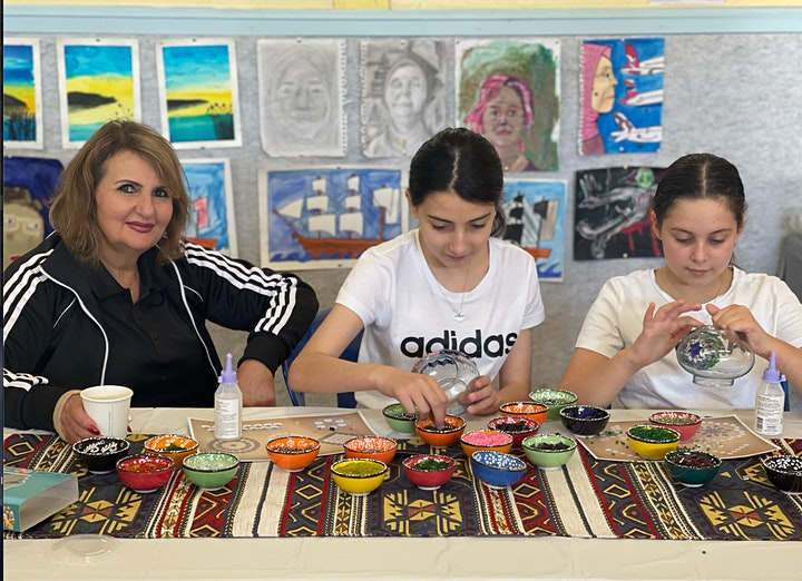 Turkish Mosaic Lamp Workshop Sydney (Miranda) image