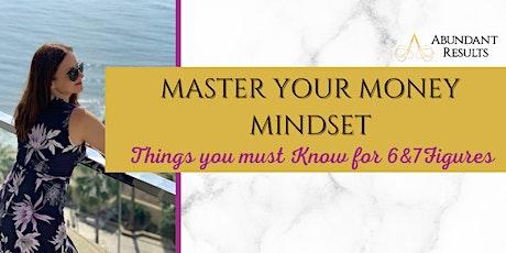 Master Your Money Mindset - 5 Day workshop with Ewa Pietrzak tickets