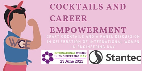 WCE - INWED Panel Discussion and Cocktail Tasting tickets