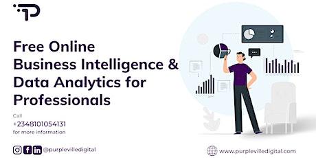 Free Business Intelligence & Data Analytics Masterclass tickets