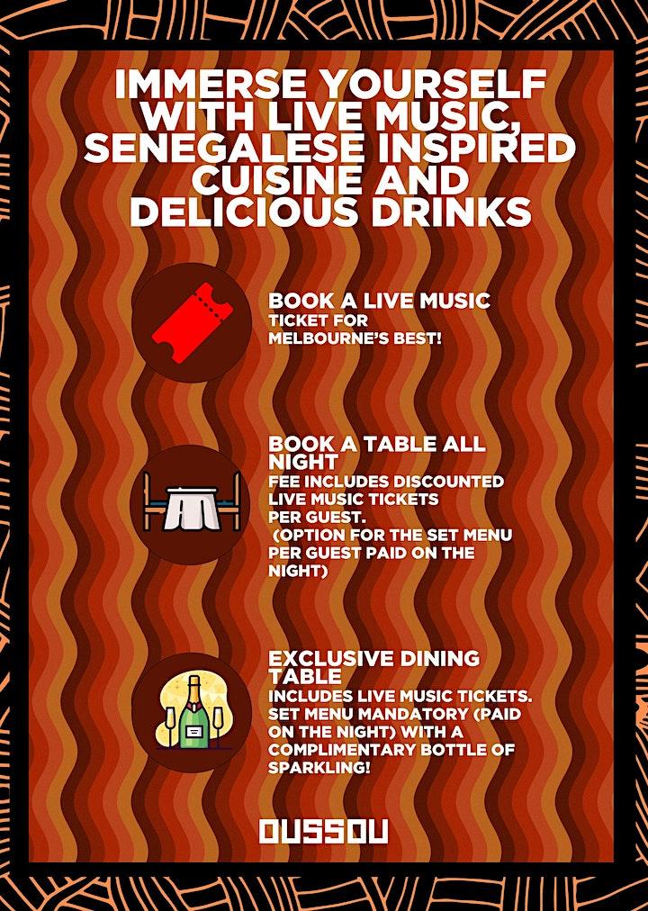 Mariah Scarey - Dining Experience / Live Music image