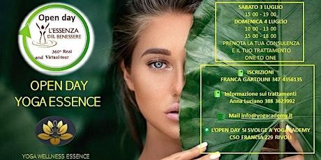 YO.W.E. - Yoga Wellness Essence --> Open Day - Essenza Benessere biglietti