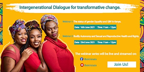 Generation Equality: Intergenerational Dialogue Webinar Series 2021 tickets