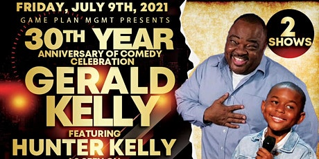GERALD KELLY'S 30 YEAR ANNIVERSARY COMEDY SPECIAL tickets
