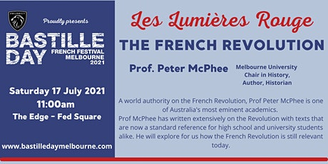 Les Lumières Rouge; The French Revolution and its relevance to today tickets