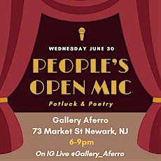 People's Open Mic (Potluck & Poetry) tickets