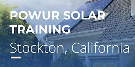 Stockton Solar Saturday Training tickets