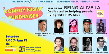 Comedy Night Fundraiser For Being Alive LA (HIV/AIDS Non-Profit) tickets