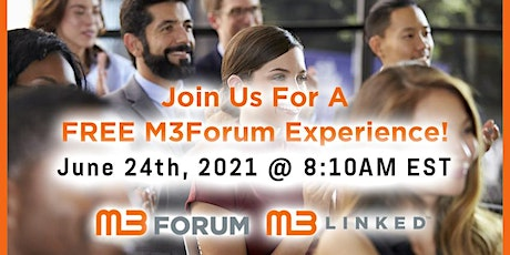 M3Forum of New York Virtual Networking Event tickets