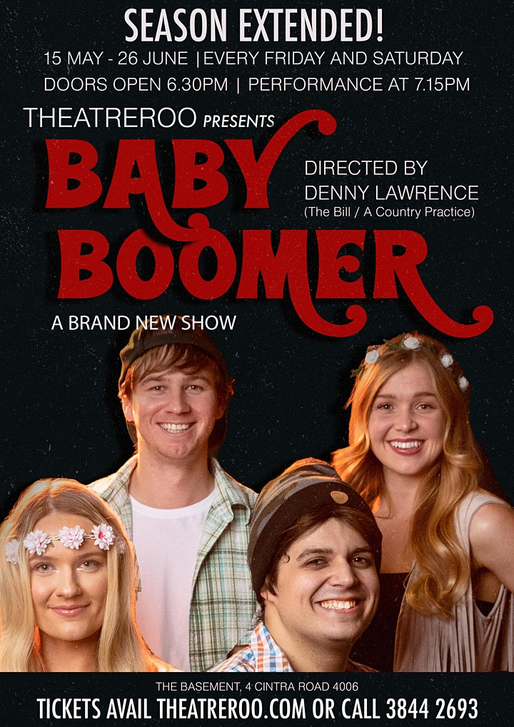 BABY BOOMER | 60 Minute Pub Theatre by Theatreroo image