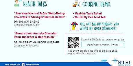Healthy Mind, Healthy Body. A mental health awareness event via Google Meet tickets