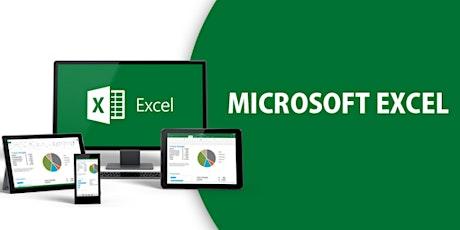 4 Weekends Advanced Microsoft Excel Training Course Madrid entradas