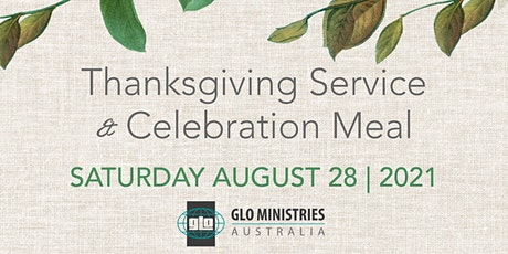 Thanksgiving Service & Celebration Meal tickets