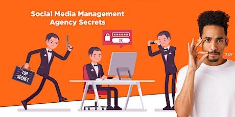 Agency Insider Social Media Management Secrets tickets