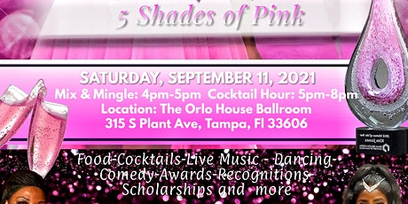 """""""Fight Like A Girl: 5 Shade of Pink""""  A Breast Cancer  Survivor Celebration tickets"""