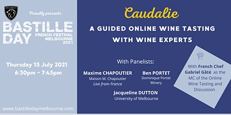 Caudalie. A Guided Online Wine Tasting tickets