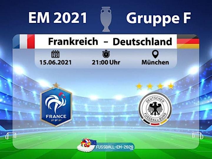 EM 2020/21 GruppenspielDeutschland - Frankreich  21:00: Bild