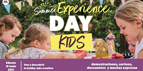 Summer Experience Day Kids - Disfruta con tu peque en Milbby Rivas Futura tickets
