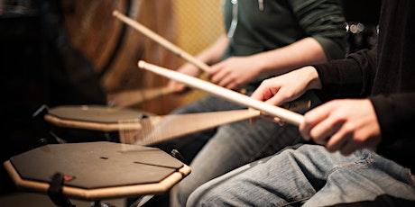 Trommeln im Augarten - Drumworkshop Tickets