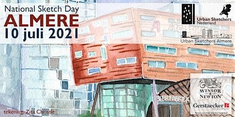 National Sketch Day Almere - 10 juli 2021 - Urban Sketchers Netherlands tickets