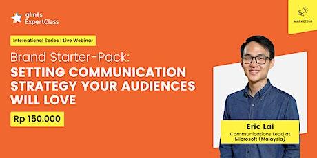 GEC International - Setting Communication Strategy Your Audiences Will Love biglietti