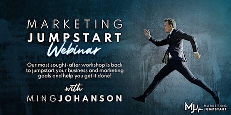 Marketing Jumpstart Webinar tickets