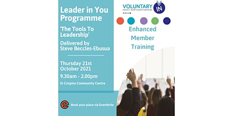 Leader in You Programme -'The Tools To Leadership'- VIN EMP Members tickets