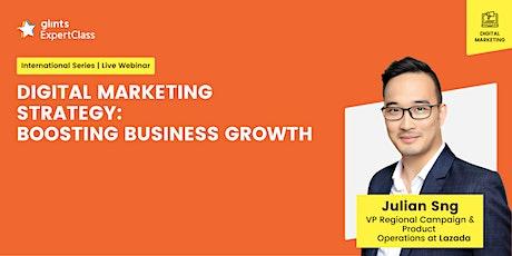 GEC International - Digital Marketing Strategy: Boosting Business Growth tickets