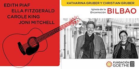 BILBAO: Homenaje a Edith Piaf, Ella Fitzgerald, Carole King y Joni Mitchell entradas