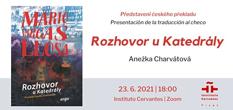 Představení knihy Rozhovor u Katedrály Maria Vargase Llosy v českém překlad tickets
