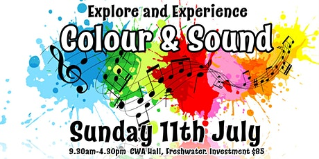 Explore and Experience Color and Sound tickets