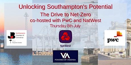 Unlocking Southampton's Potential - the drive to Net Zero tickets