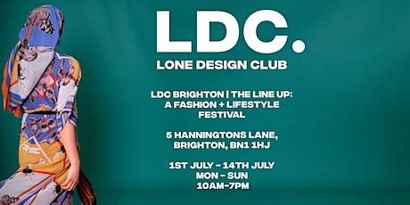 Lone Design Club Brighton   Festival Season: A Fashion + Lifestyle Pop Up tickets