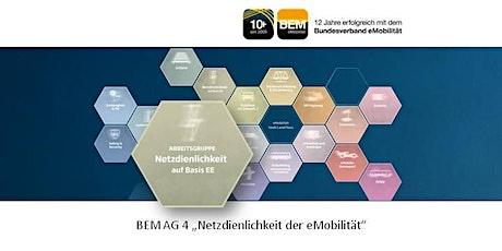 BEM-AG 4 - Netzdienlichkeit der eMobilität | Juli 2021 Tickets