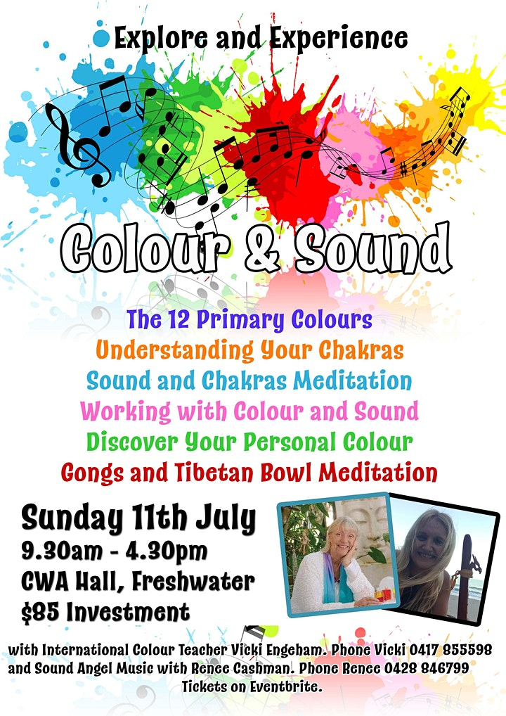 Explore and Experience Color and Sound image
