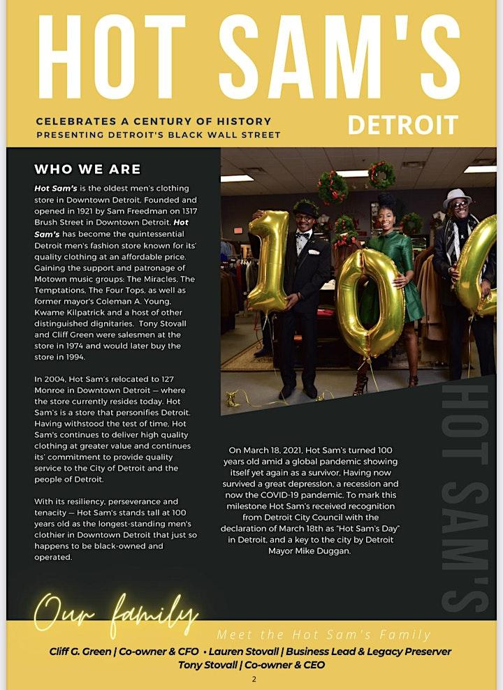 Century of History: presenting Detroit's Black Wall Street + Entertainment image