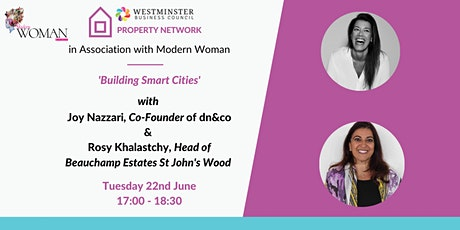 WBC & Modern Woman, Women in Property Series - 'Building Smart Cities' tickets