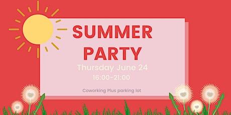 Kickstart af iværksættermiljøet i Odense - Sommerfest hos Coworking Plus tickets