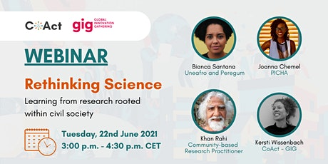 Rethinking science: Learning from research rooted within civil society tickets