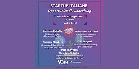 Startup Italiane & Opportunità di Fundraising biglietti