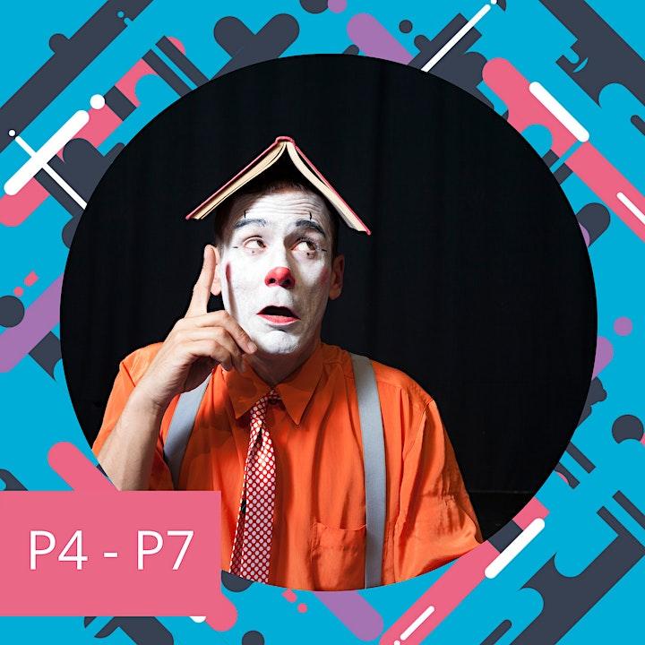 Comedy School for P4 - P7 image