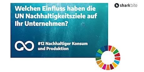 Welchen Einfluss haben die UN Nachhaltigkeitsziele auf Ihr Unternehmen? Tickets