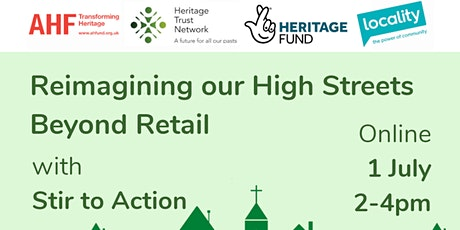 Reimagining our High Streets Beyond Retail tickets